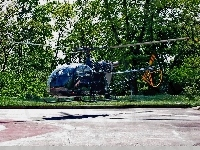 AS-313, Brazos, Helicopters, Alouette II