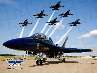 Boeing, Blue Angels, F/A-18