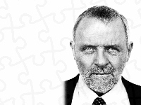 broda, Anthony Hopkins, krawat