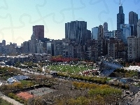 Park, Chicago, Architektura