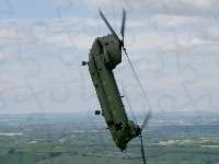 Chinook, Boeing, CH-47, Akrobacje