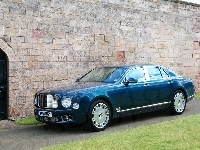 Chromowane, Bentley Mulsanne, Listwy