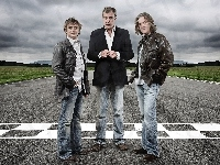 Richard Hammond, James May, Top Gear, Prowadzący, Jeremy Clarkson