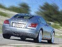Chrysler Crossfire, Tył