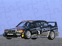 1990 AMG starts in the DTM with the 190 E