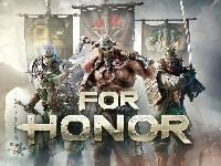 Wiking, Gra, Proporce, For Honor, Rycerz, Samuraj