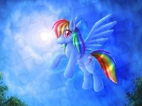 My Little Pony Przyja�� To Magia, Rainbow Dash
