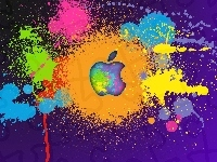 Apple, Logo, Graffiti