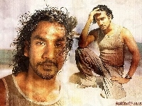 Naveen Andrews, Filmy Lost, plaża
