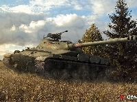 Czołg, Pejzaż, Gra, World of tanks, Obiekt 907