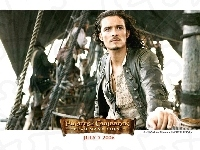 statek, piraci_z_karaibow_2, Orlando Bloom, liny