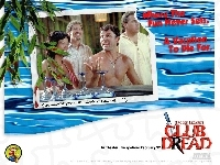 postacie, Club Dread, Lucy Liu, śmiech