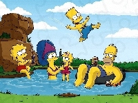 The Simpsons, Rodzina, Basen