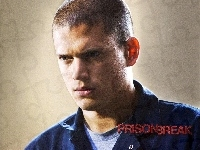 Wentworth Miller, Prison Break, twarz