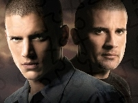 Wentworth Miller, Prison Break, Dominic Purcell
