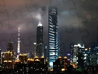 World, Center, Chiny, Shanghai, Financial