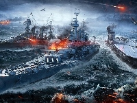 World Of Warships, Okręty