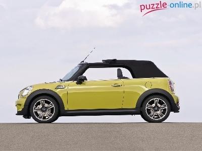 puzzle brezentowy mini cabrio dach. Black Bedroom Furniture Sets. Home Design Ideas