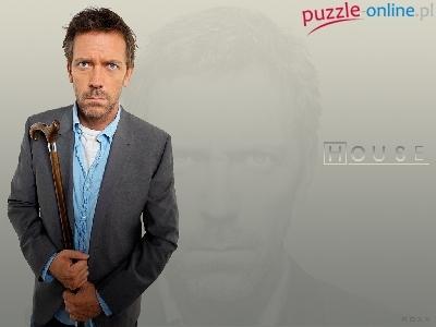 Puzzle Laska Hugh Lauriego Dr House