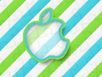 2D, Grafika, Apple, Logo
