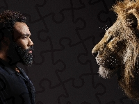 Aktor, Król Lew, Lew, Film, The Lion King, Donald Glover