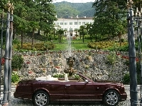 Bentley Azure, Bordowy, Fontanna