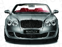 Bentley Continental GTC, Przód, Grill