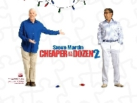 mężczyzna, Cheaper By The Dozen 2, Steve Martin