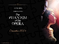 Gerard Butler, napisy, Phantom Of The Opera, Emmy Rossum, ciemno
