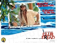 czapka, Club Dread, Bill Paxton, kapitana