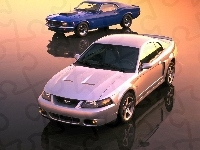 Dwa, Ford, Mustang, Modele