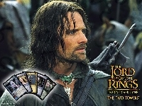 zbroja, The Lord of The Rings, Viggo Mortensen, karty