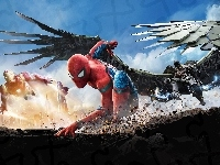 Iron Man, Vulture, Film, Spider-Man : Homecoming, Spider-Man