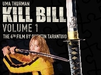 Miecz, Uma Thurman, Kill Bill 1