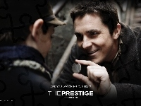 moneta, The Prestige, Christian Bale, chłopiec