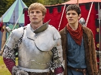 The Adventures of Merlin, Artur - Bradley James, Serial, Przygody Merlina, Merlin - Colin Morgan