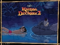 Księga Dżungli 2, Baloo, Mowgli, The Jungle Book 2