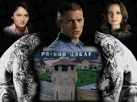 Robin Tunney, plecy, Wentworth Miller, Prison Break, wieża, Sarah Wayne Callies