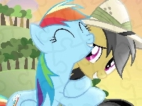 Rainbow dash, Daring do