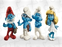 The Smurfs, Smerfy, Figurki