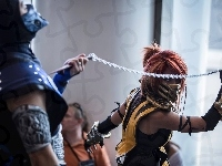 Sub-Zero, Mortal Kombat, Scorpion, Cosplay