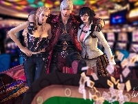 Trish, Devil May Cry, Dante, Lady