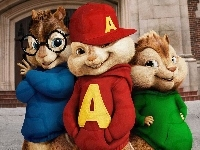Trzy, Alvin i wiewiórki, Alvin and the Chipmunks, Wiewiórki