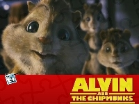 Alvin i wiewiórki, Alvin and the Chipmunks