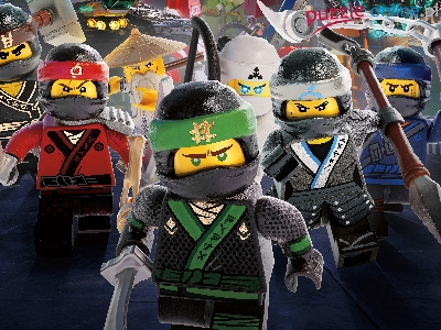 The LEGO Ninjago Movie, LEGO Ninjago Film, Plakat