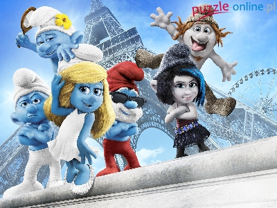 Smerfy, The Smurfs, Postacie