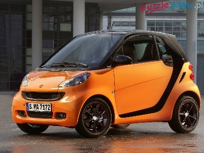 Smart Fortwo NightOrange Limited Edition, Pomarańczowy, 2011