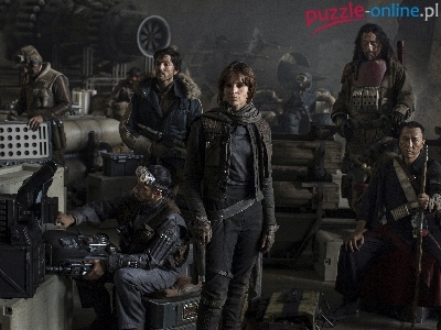Rogue One: A Star Wars Story, Film, Łotr 1. Gwiezdne wojny – historie, Felicity Jones
